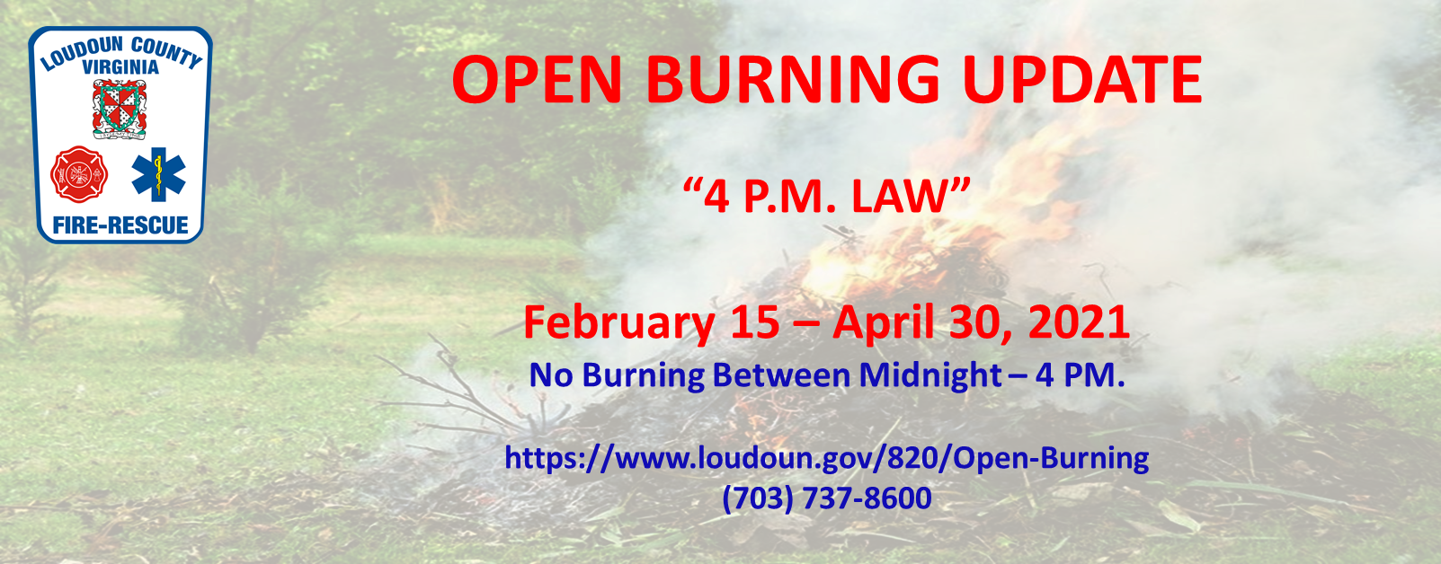 Open Burn Restrictions